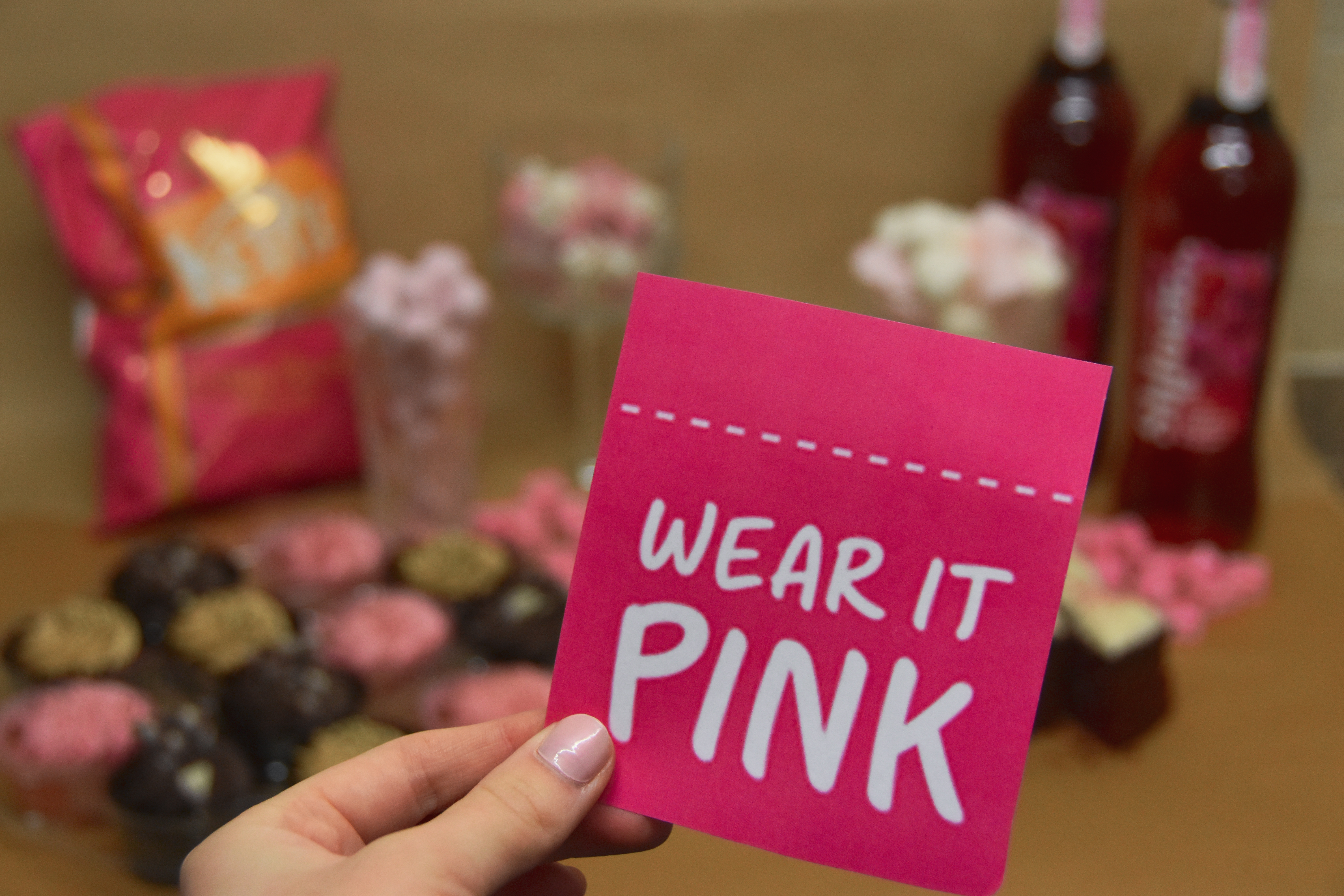 October marks Breast Cancer Awareness Month