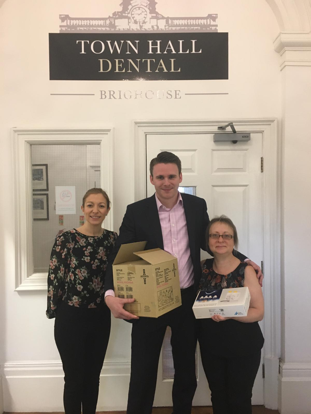 Donations to Town Hall Dental 1