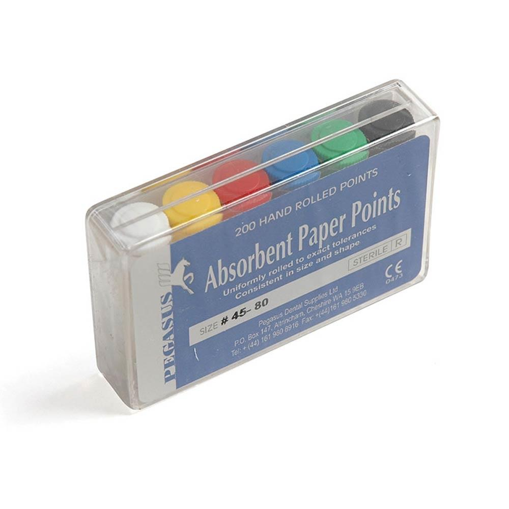 Absorbent Paper Points Assorted - Nos. 15-40 x 200