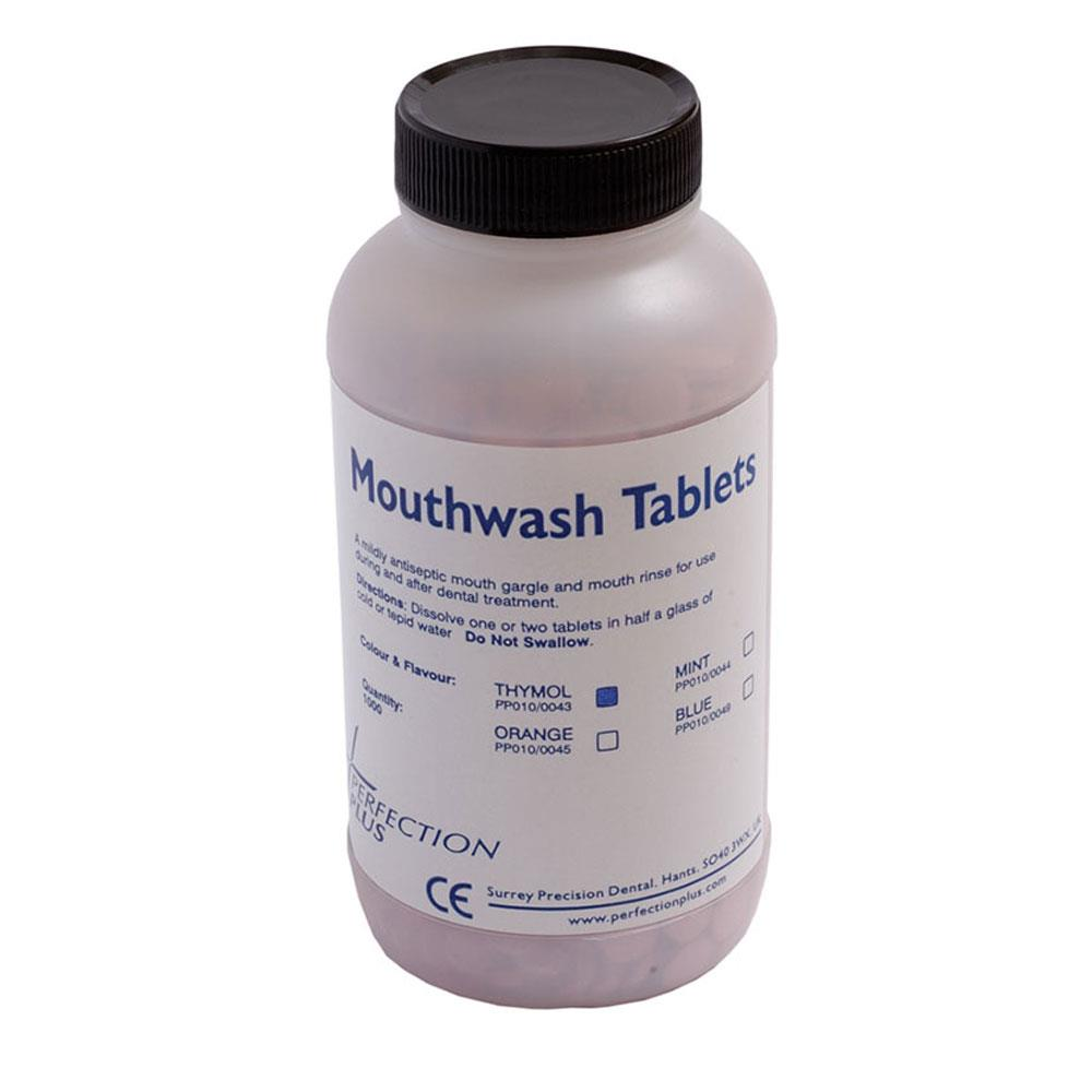 Mouthwash Tablets Thymol Pink x 1000
