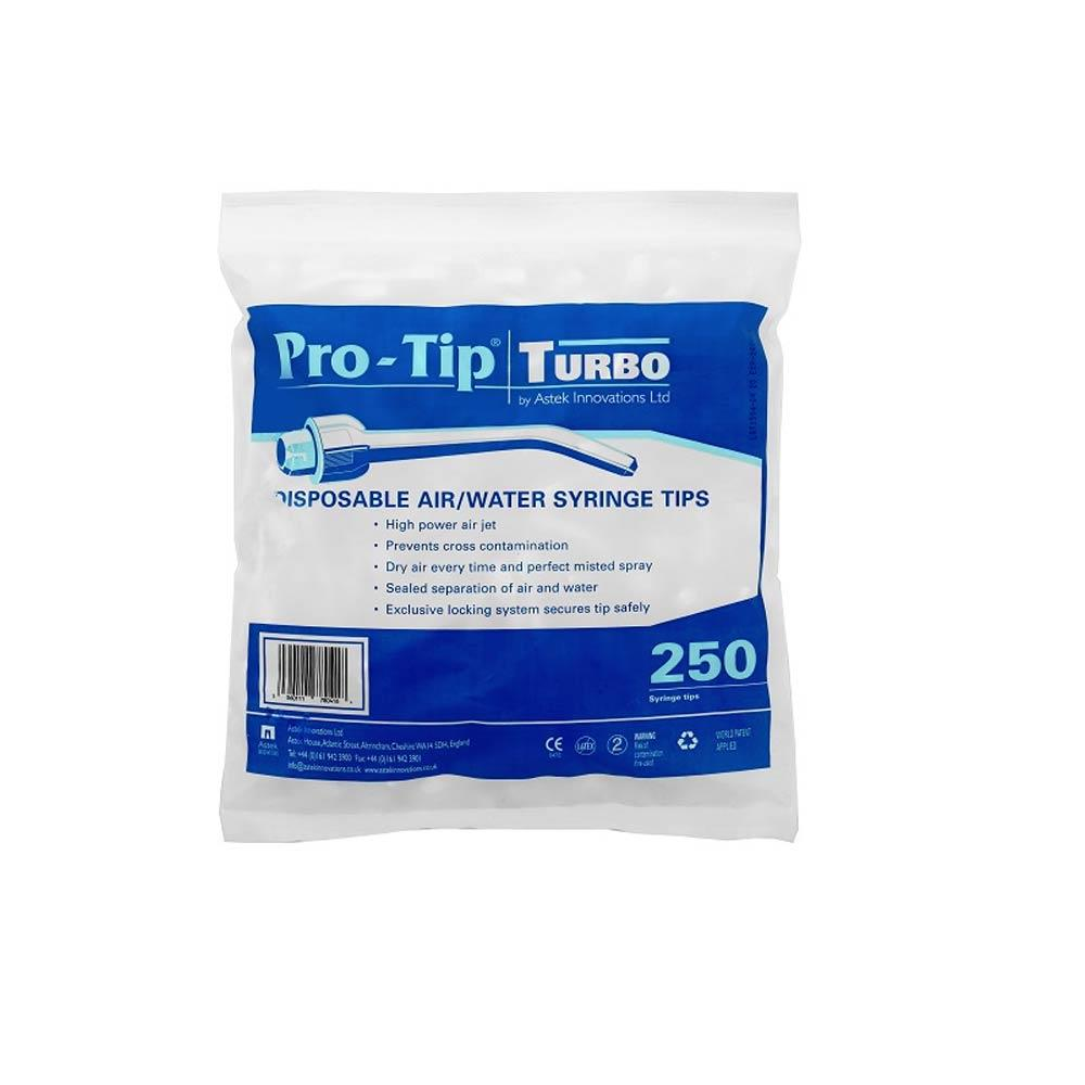 Pro-Tip Turbo Syringe Tips Disposable Air and Water Tips x 250