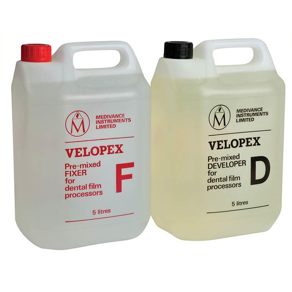 Velopex Fixer and Developer Fixer - 5 Litres