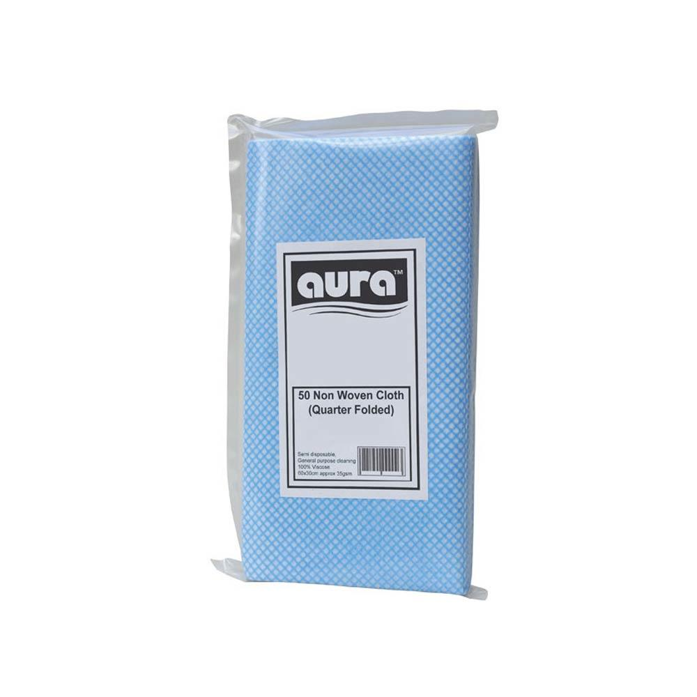 Disposable Handy Wipes Blue x 50
