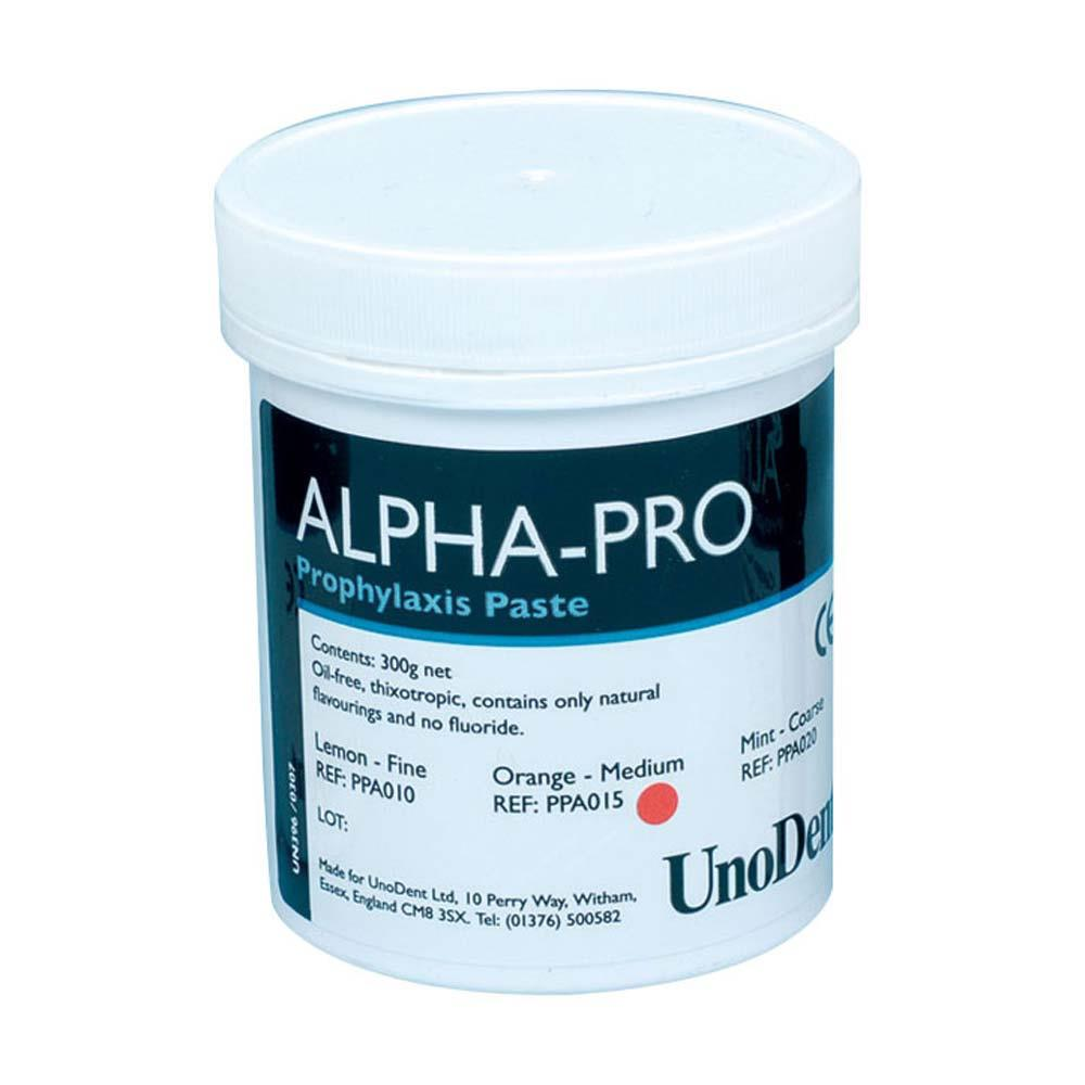 Alpha-Pro Prophy Paste Medium Orange - 300g