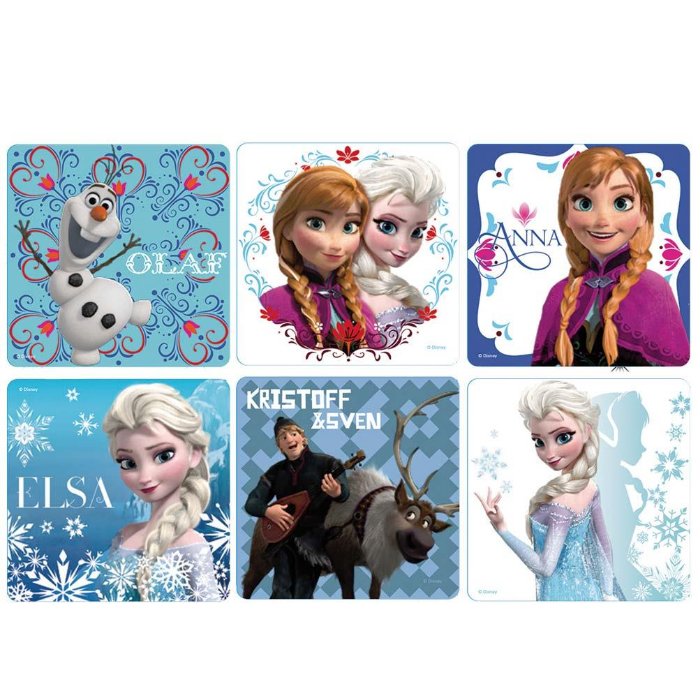 Frozen Stickers x 100