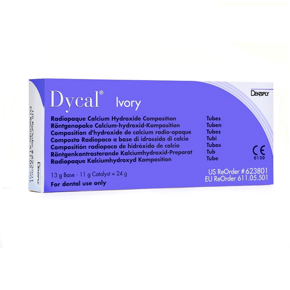 Dycal Refill Pack 13g Base Paste, 11g Catalyst Paste and Mixing Pad